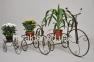 Подставка для цветов кованая Велосипед-1 (малый, мини, большой) хк 1