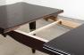 Стол обеденный деревянный раскладной Роял цвет венге, темный орех мм 4