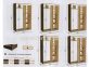 шкаф-купе длиной 1,4(1,5, 1,6, 1,7, 1,8, 1,9 м) глубиной 0,6 м или 0,45 м высотой 2,1м 1