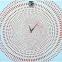 Настенные часы Кружение, часы-холст 1