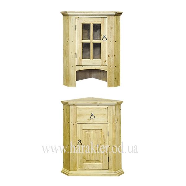 деревянная мебель в стиле кантри угловой буфет комод P 1dg