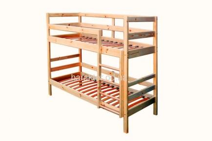 Кровать двухъярусная Babygrai из сосны БГ