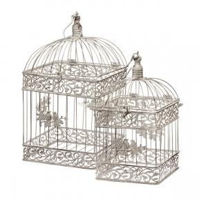 Клетка декоративная Квадрат 1488-4  набор 2шт