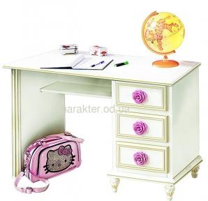 Рабочее место, стол письменный с антресолью Фиерия СК