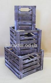 Комплект ящиков деревянных для вина №7 хк