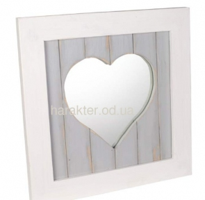 Зеркало сердце Амур ВВ SS000468