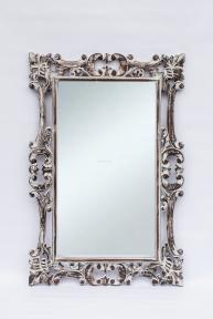Зеркало в деревянной раме Ажур, 120 см * 80 см 71205 эм