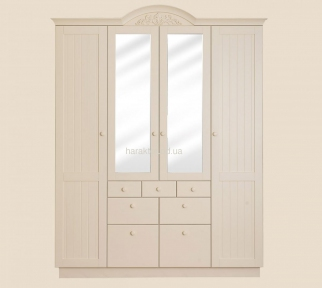 Шкаф деревянный платяной в стиле Прованс ШАТО РБК
