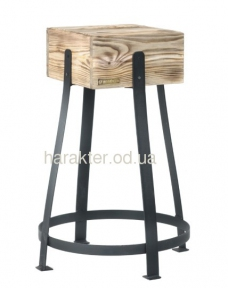 Стулья барные из дерева и металла ВВ SS004363 Ватра