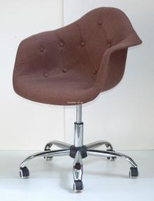 Кресло, Стул офисный  Leon Soft Office Вискоза (Таэур, Прайз) цвет красный, коричневый