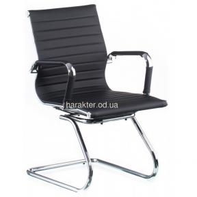 Кресло офисное Solano artleather conference (черный, белый, бежевый) тсп