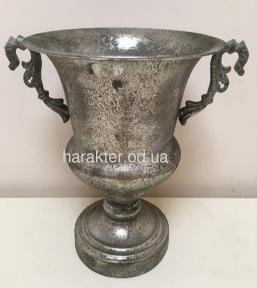 Кубок з ручками метал срібло 7159-1, золото 7159J Gold