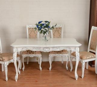 Стол раскладной Виконт деревянный в классическом стиле рбк