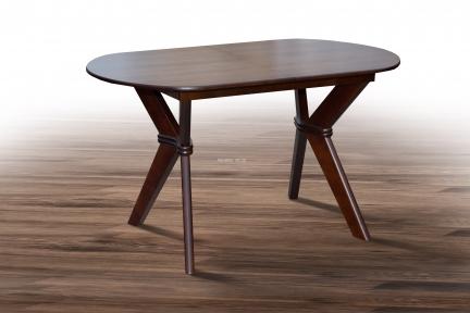 Стол обеденный Брайтон раскладной, цвет орех, белый, бежевый ммУльтра