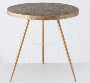 Стол журнальный Кордоба H 55 см, D 55 металл, золото ГП2006105