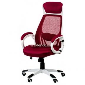 Кресло компьютерное, офисное Briz red (E0901)