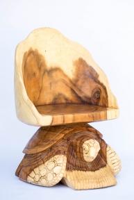 Стул-черепаха, (санокли), высота 70см, ширина 50см ЭМ41109