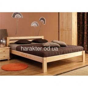 Двуспальная кровать из ясеня Амели шс