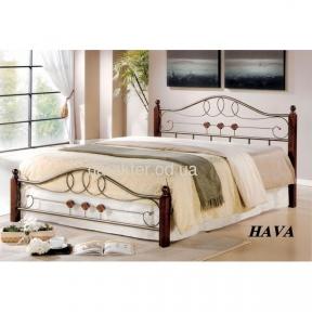 Кровать двуспальная Hava N 160*200, 180х200, 140*200 ом