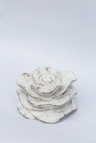Декоративная Роза-подсвечник, 13*10 см 20411, 17*10см 20414