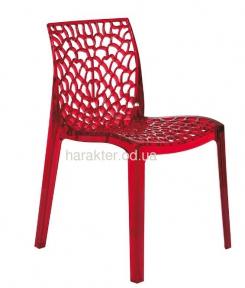 Дизайнерский стул прозрачный Gruvyer (Грувер) из поликарбоната
