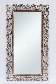 Зеркало в деревянной раме Ажур, 145 см* 80 см 71203 эм