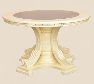 Стол деревянный Мираж круглый, не раскладной рбк