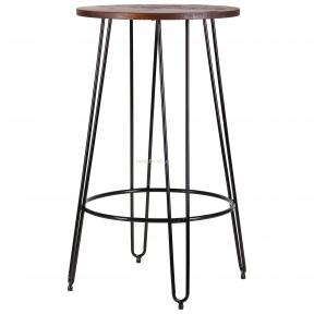 Стол барный Nirvana, черный в стиле Лофт