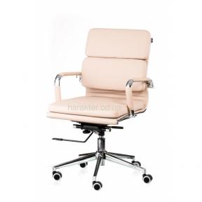Кресло офисное, компьютерное Solano 3 artleather (черный , бежевый) тсп