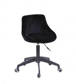 Стул офисный, компьютерный Foro (BK/СН Modern Office) на черном основании (ВК) или хром, колеса