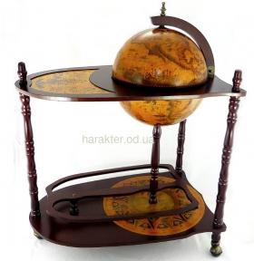 Глобус бар напольный со столиком 330 мм  33035 гп