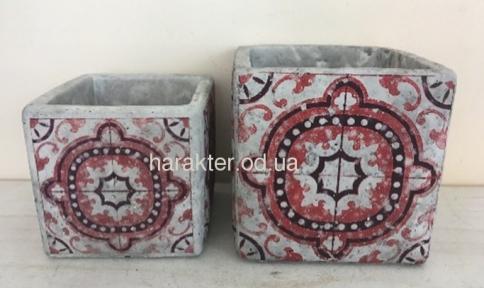Кашпо Марокко керамическое 17208-3 ФД