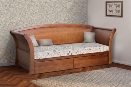 Кровать Адриатика,  диван односпальный, с ящиками для белья мм