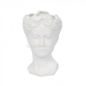 Ваза керамическая Империале 25 см ZG140, ваза Лицо