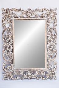 Зеркало в деревянной раме Ажур, 120*90 см 71205w эм