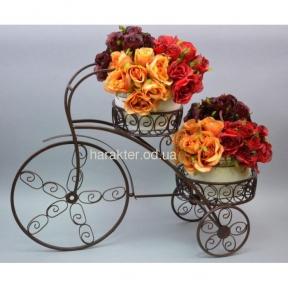 Подставка под цветы Велосипед HX040