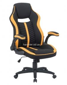 Крісло офісне Prime black_yellow та black_red, кресло компьютерное тсп