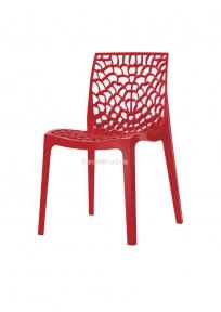 Дизайнерский стул Crystal Кристал (Gruvyer, Грувер) пластиковый, цвет разный, для кафе, бара, дома ом