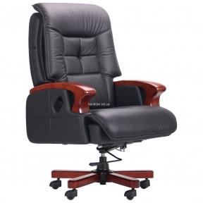 Кресло руководителя Arthur кожа Black и Brown