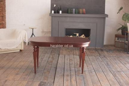 Стол деревянный Ретро раскладной, ножки конус, ножки круглые рбк