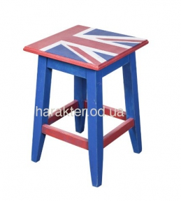 Табурет в английском стиле Union Jack ВВ SS003715