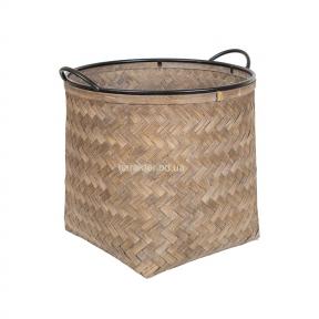 Корзина бамбуковая с ручками 45 см, 38 см, 31 см 107774 кс