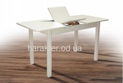 Стол обеденный Персей цвет белый, орех (авангард) мм