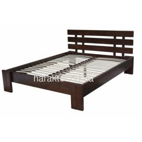 Двуспальная кровать из ясеня Бруно шс