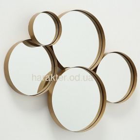 Дзеркало Coast золото H 57,00 см, W 73,00 см (фд1005337)