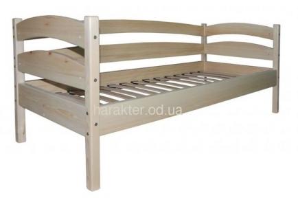 Кровать одноярусная, односпальная из сосны БГ
