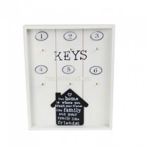 Ключница настенная House открытая PR150, Ключница настенная Фламинго открытая PR377 ат
