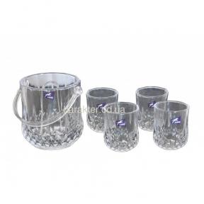 Набор 4 стакана и ледница VB332 ат