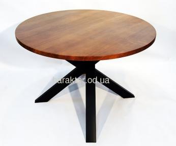 Стол деревянный в стиле Лофт ЦЕ IRON HEDGEHOG