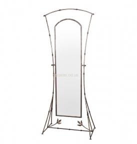 Кованое зеркало напольное Бамбук м28050